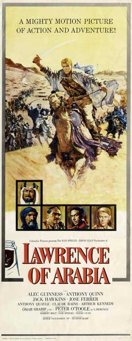 Lawrence of Arabia - 14 x 36 Movie Poster - Insert Style B
