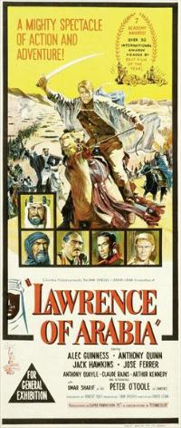 Lawrence of Arabia - 13 x 30 Movie Poster - Australian Style A