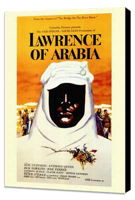 Lawrence of Arabia - 11 x 17 Movie Poster - Style A - Museum Wrapped Canvas