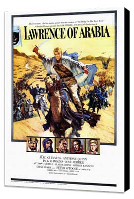 Lawrence of Arabia - 27 x 40 Movie Poster - Style B - Museum Wrapped Canvas