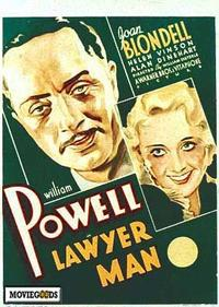 Lawyer Man - 43 x 62 Movie Poster - Bus Shelter Style A