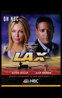 LAX - 11 x 17 TV Poster - Style A