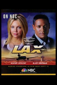 LAX - 27 x 40 TV Poster - Style A