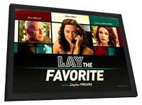 Lay the Favorite - 11 x 17 Movie Poster - Style B - in Deluxe Wood Frame