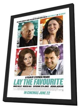 Lay the Favorite - 11 x 17 Movie Poster - Style A - in Deluxe Wood Frame