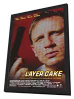Layer Cake - 27 x 40 Movie Poster - Style A - in Deluxe Wood Frame