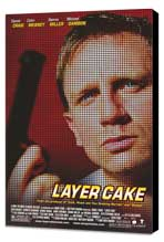 Layer Cake - 27 x 40 Movie Poster - Style A - Museum Wrapped Canvas