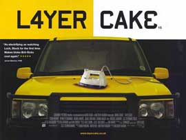 Layer Cake - 11 x 14 Movie Poster - Style A
