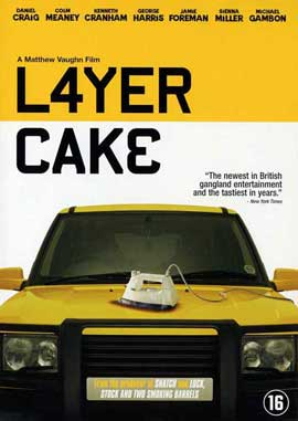 Layer Cake - 11 x 17 Movie Poster - Danish Style A