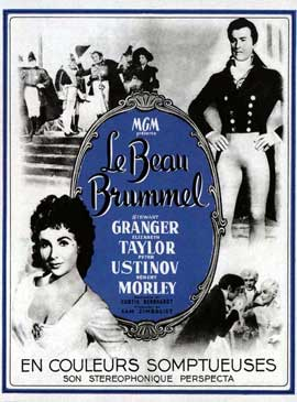 Le beau Brummel - 11 x 17 Movie Poster - French Style A