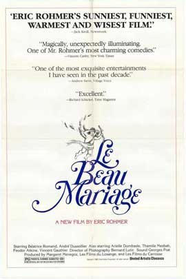 Le Beau Mariage - 11 x 17 Movie Poster - Style A