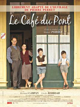 Le cafe du port - 11 x 17 Movie Poster - French Style A