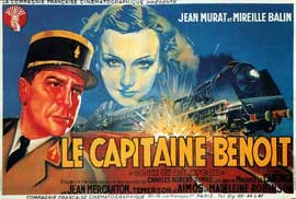 Le capitaine Benoit - 11 x 17 Movie Poster - French Style A