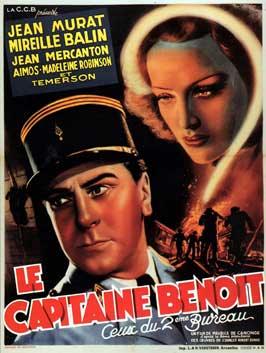 Le capitaine Benoit - 27 x 40 Movie Poster - French Style A