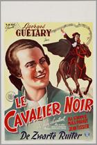 Le cavalier noir - 11 x 17 Movie Poster - Belgian Style A
