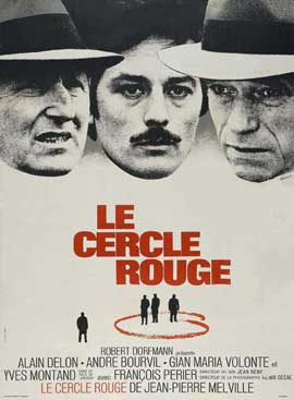 Le cercle rouge - 27 x 40 Movie Poster - French Style A
