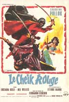 Le cheik rouge - 11 x 17 Movie Poster - French Style A