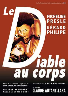 Le diable au corps - 11 x 17 Movie Poster - French Style A
