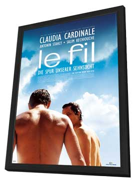 Le Fil - 11 x 17 Movie Poster - German Style A - in Deluxe Wood Frame