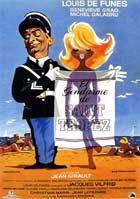 Le gendarme de Saint-Tropez - 11 x 17 Movie Poster - Spanish Style A