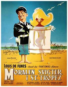 Le gendarme de Saint-Tropez - 11 x 17 Movie Poster - Danish Style A