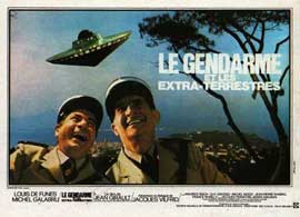 Le gendarme et les extra-terrestres - 11 x 17 Movie Poster - French Style A