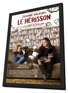 Le herisson - 11 x 17 Movie Poster - French Style A - in Deluxe Wood Frame