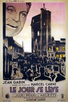 Le Jour Se Leve - 11 x 17 Movie Poster - French Style A