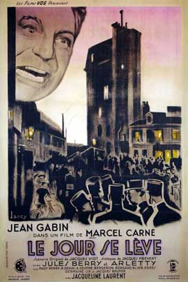 Le Jour Se Leve - 27 x 40 Movie Poster - French Style A