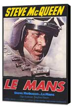 Le Mans - 27 x 40 Movie Poster - German Style A - Museum Wrapped Canvas