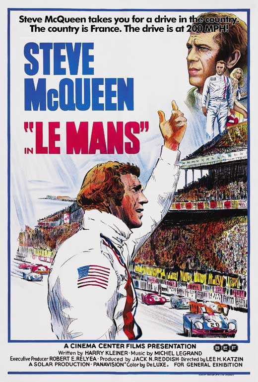 le mans movie posters from movie poster shop. Black Bedroom Furniture Sets. Home Design Ideas