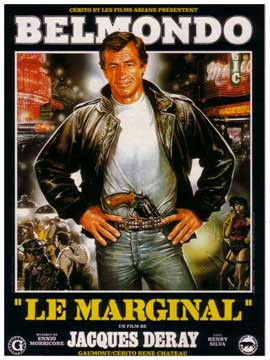 Le marginal - 11 x 17 Movie Poster - French Style A