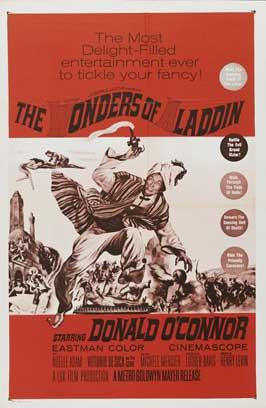 Le meraviglie di Aladino - 27 x 40 Movie Poster - Style B