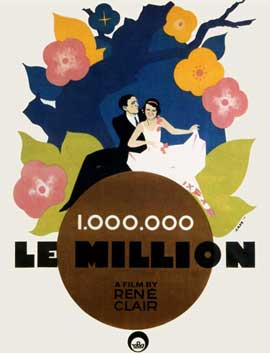 Le Million - 11 x 17 Movie Poster - French Style A