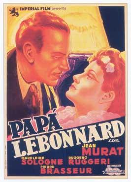 Le p�re Lebonnard - 11 x 17 Movie Poster - Spanish Style A