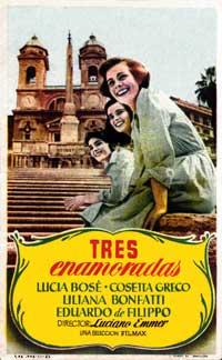 Le ragazze di Piazza di Spagna (TV) - 11 x 17 Movie Poster - Spanish Style A