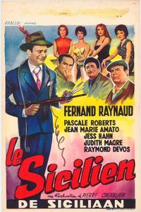 Le Sicilien - 11 x 17 Movie Poster - Belgian Style A