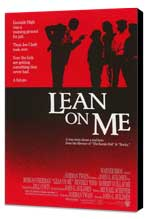 Lean on Me - 11 x 17 Movie Poster - Style A - Museum Wrapped Canvas