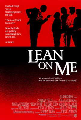 Lean on Me - 27 x 40 Movie Poster - Style A