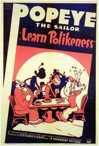 Learn Polikeness - 11 x 17 Movie Poster - Style A