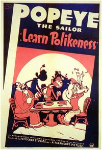 Learn Polikeness - 43 x 62 Movie Poster - Bus Shelter Style A