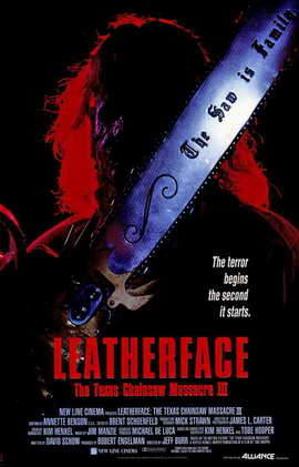 Leatherface: The Texas Chainsaw Massacre 3 - 11 x 17 Movie Poster - Style A