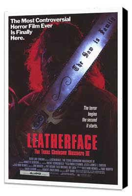 Leatherface: The Texas Chainsaw Massacre 3 - 27 x 40 Movie Poster - Style A - Museum Wrapped Canvas