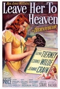 Leave Her to Heaven - 27 x 40 Movie Poster - Style A
