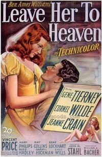 Leave Her to Heaven - 43 x 62 Movie Poster - Bus Shelter Style A