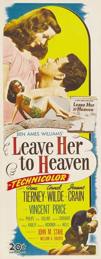 Leave Her to Heaven - 14 x 36 Movie Poster - Insert Style A