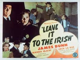 Leave It to the Irish - 11 x 14 Movie Poster - Style A