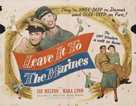 Leave It to the Marines - 11 x 17 Movie Poster - Style A