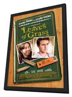 Leaves of Grass - 27 x 40 Movie Poster - Style A - in Deluxe Wood Frame