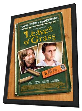 Leaves of Grass - 11 x 17 Movie Poster - Style A - in Deluxe Wood Frame
